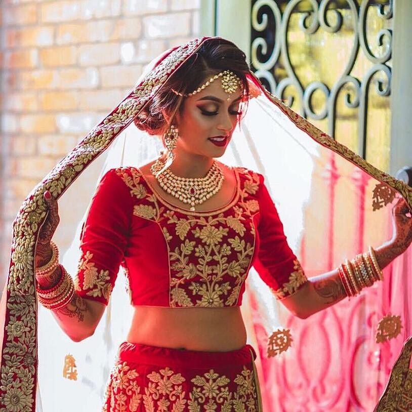 Ishnae Co Indian Wedding Makeup Artists Dallas