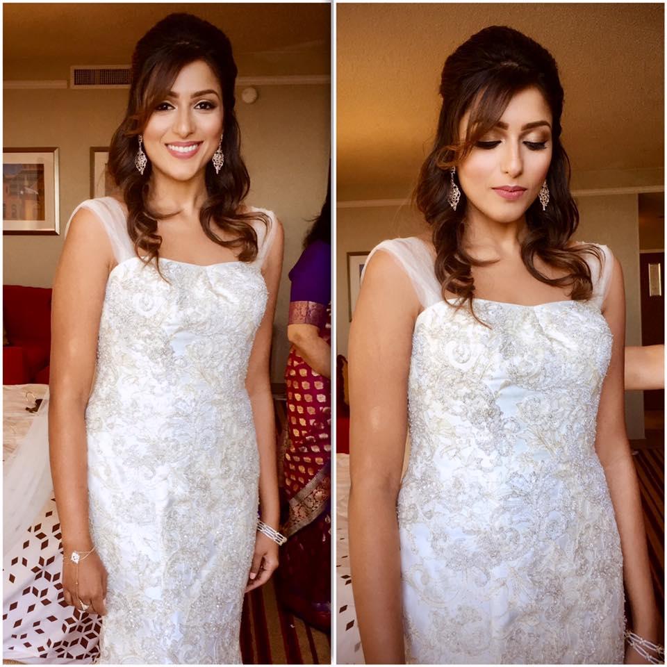 Makeup and hair by Pooja Indian Wedding Makeup Artist Dallas