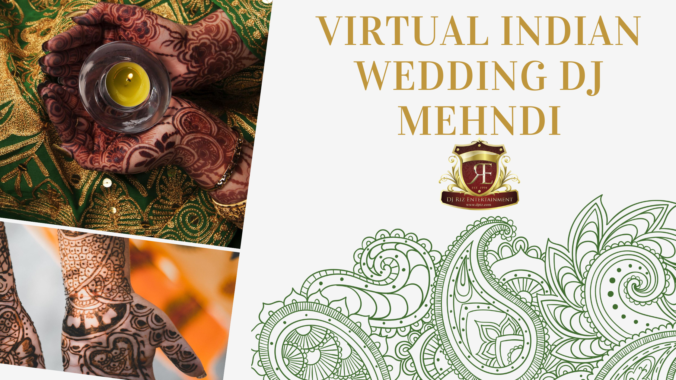 Virtual Indian Wedding DJ Mehndi