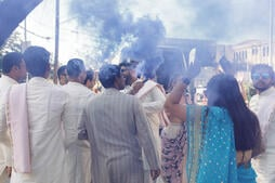 Special Effects at Indian Weddings